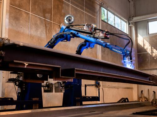 Automatiserad svetsning robotsvetsning
