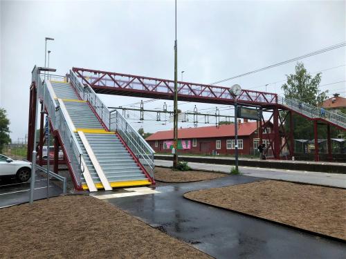GC-Bro Gång och Cykelbro Örebro Södra station
