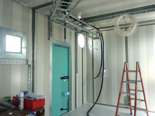 Processcontainer Stålkonstruktion Biogasq