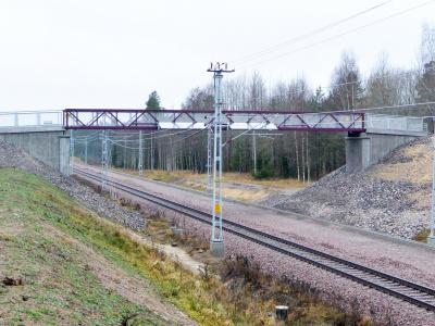 GC-Bro Gång och Cykelbro järnväg