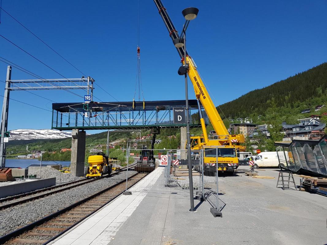 GC-Bro Gång och Cykelbro Åre